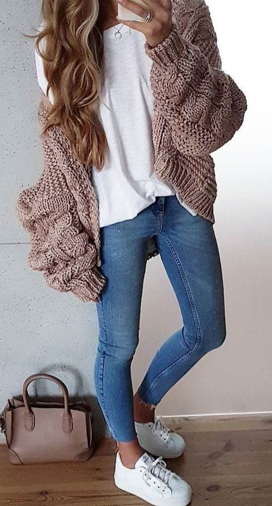 Cute Casual winter fashion outfits for women 2019, fashion outfits, fall fashion…