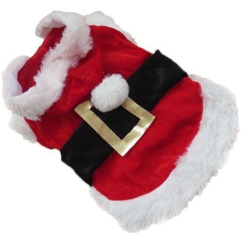 Cute Santa Claus Hoodie for Puppy