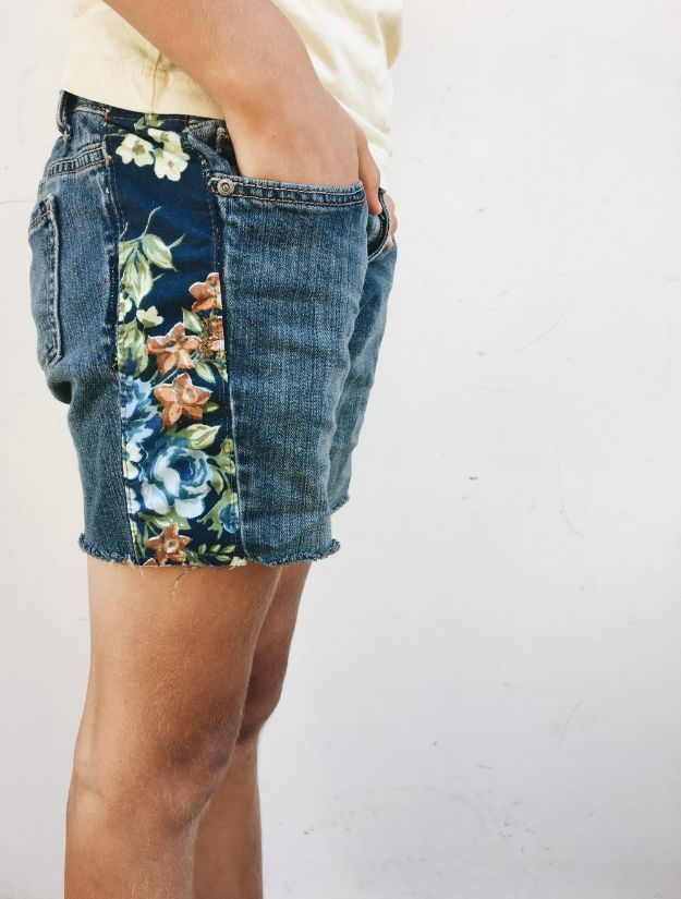 DIY Boho Clothing and Jewelry – Boho Inspired Jean Cutoff Shorts – How To