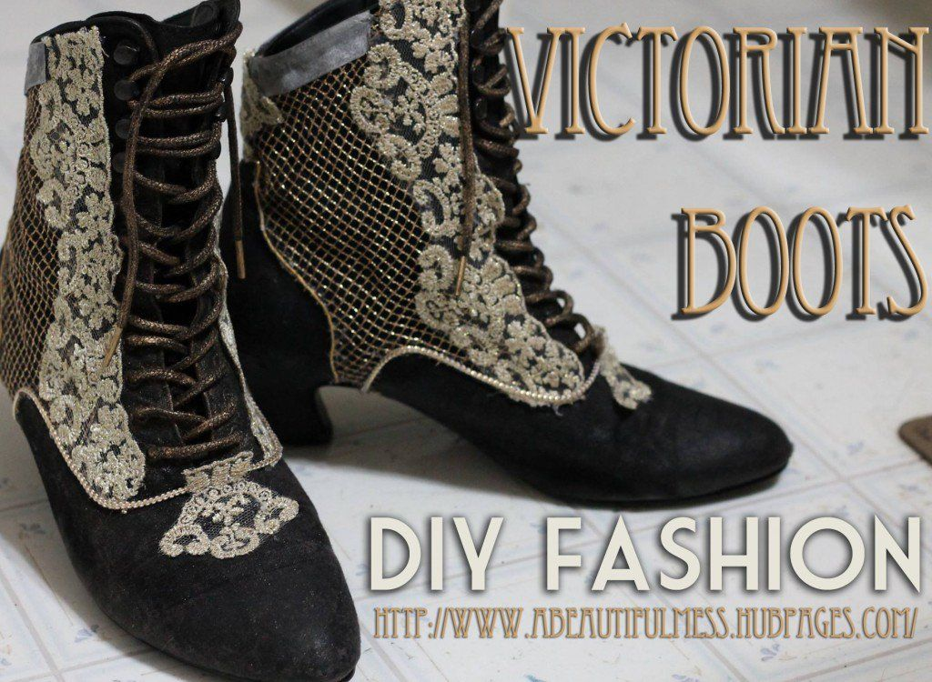 DIY Fashion: Victorian Boots