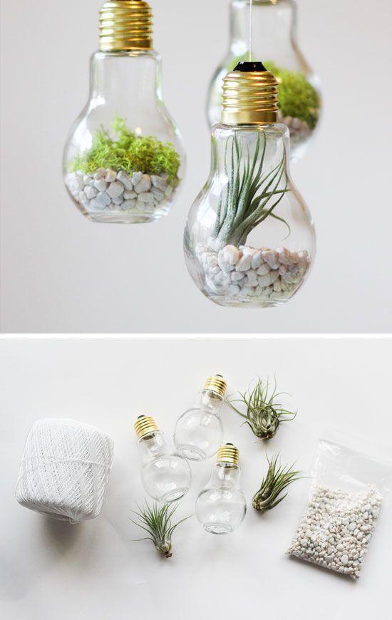 DIY Hanging Mason Jar Lights and Chandeliers