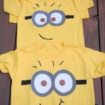 DIY Minion Shirt for Kids