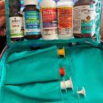 DIY Portable Medicine Kit Using a Makeup Bag