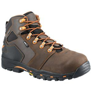 Danner Vicious GORE-TEX Composite Toe Work Boots for Men with Metatarsal Guard – Brown/Orange – 11.5M