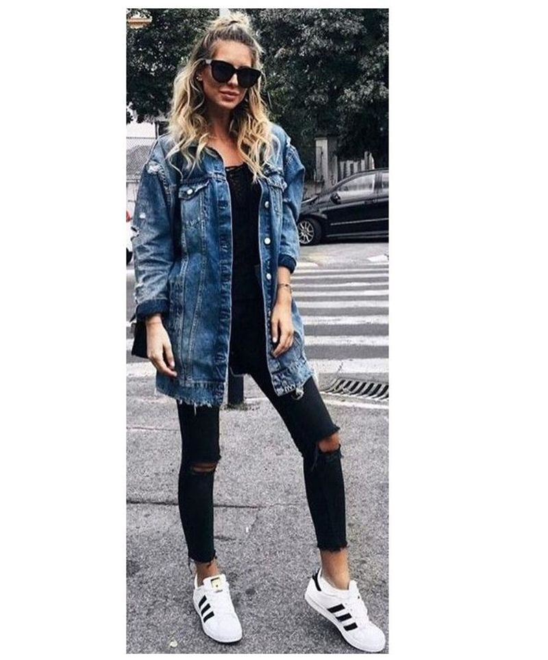 Denim Jacket – Boyfriend Jacket