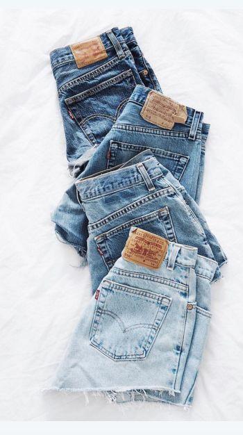 Denim daze. Choose your favorite wash in 501 shorts for summer.                 …