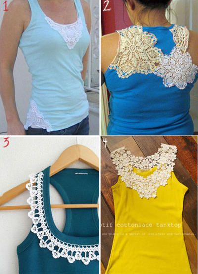 Diy Shirt Ideas Diy t shirt refashion – Some of these ideas have promise.
