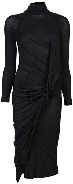 Donna Karan, Double Layer Dress  Black Dress #2dayslook #ramirez701 #BlackDress …