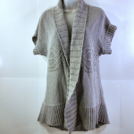 Donna Karen DKNY Open Cardigan Tunic Sweater Donna Karen DKNY Open Cardigan Tuni...