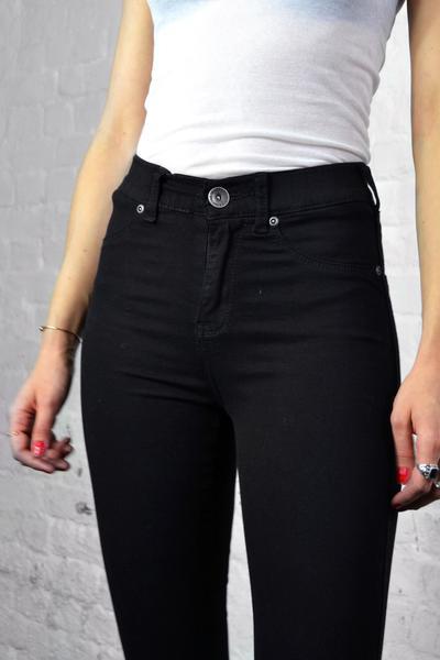Dr Denim Black Plenty Jeans