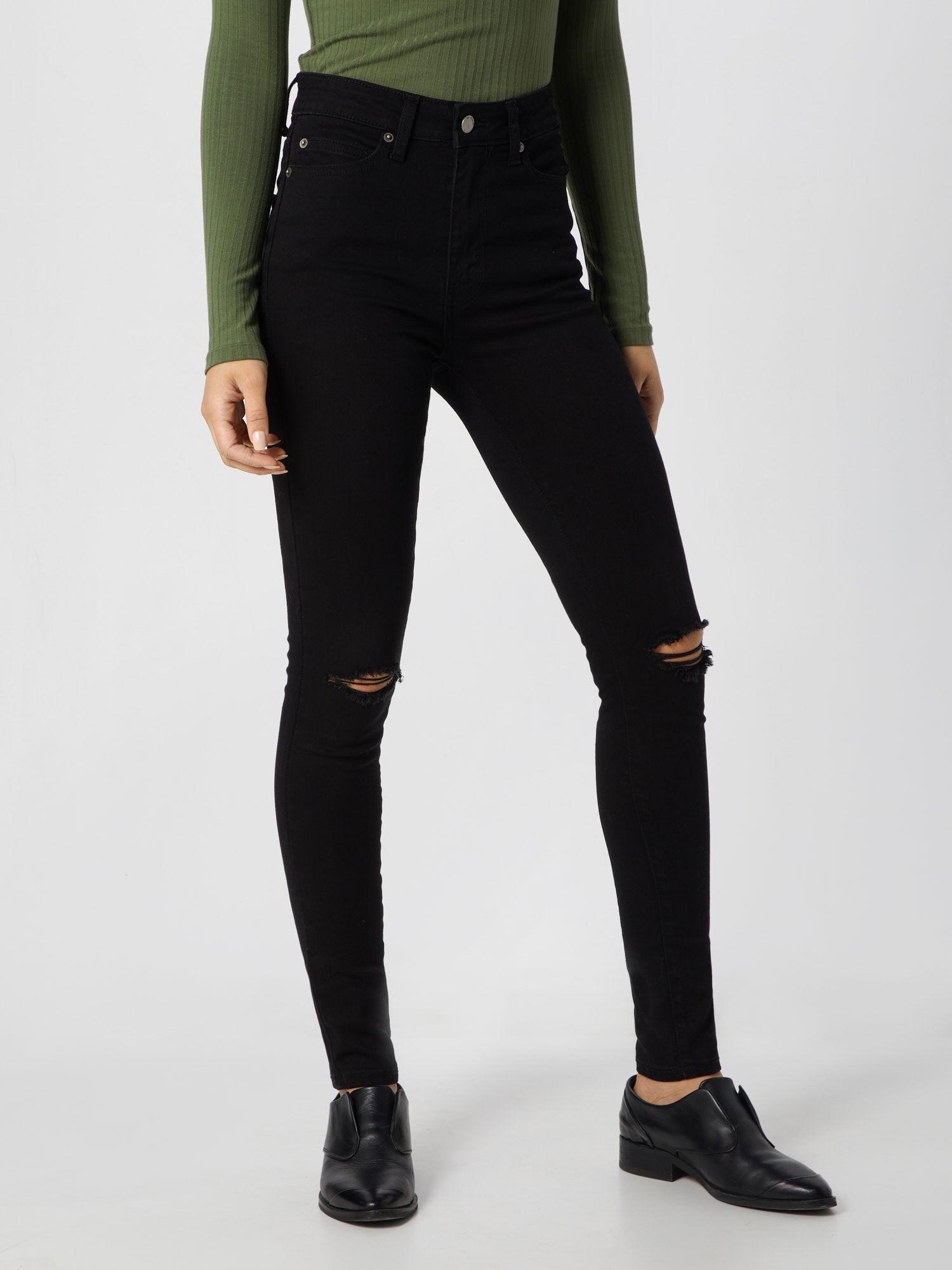 Dr. Denim Jeans 'Erin' Damen, Black Denim, Größe 29