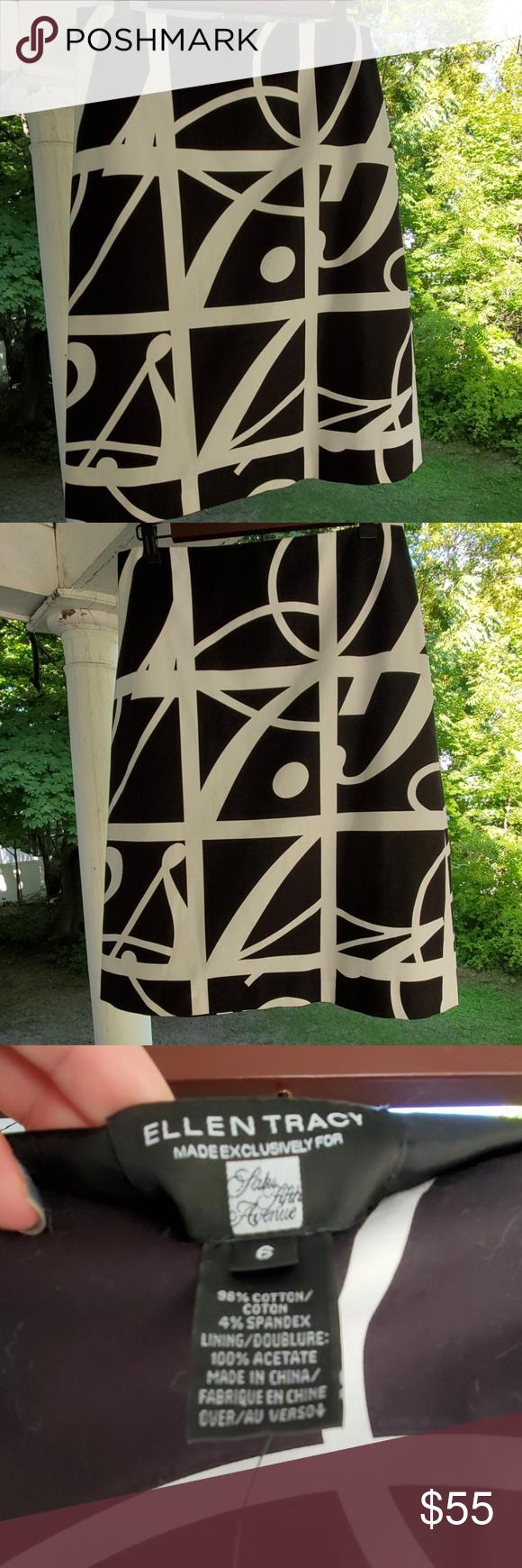 ELLEN TRACY SKIRT NWT ELLEN TRACY skirt made for Saks 5th Avenue. Stunning skirt…