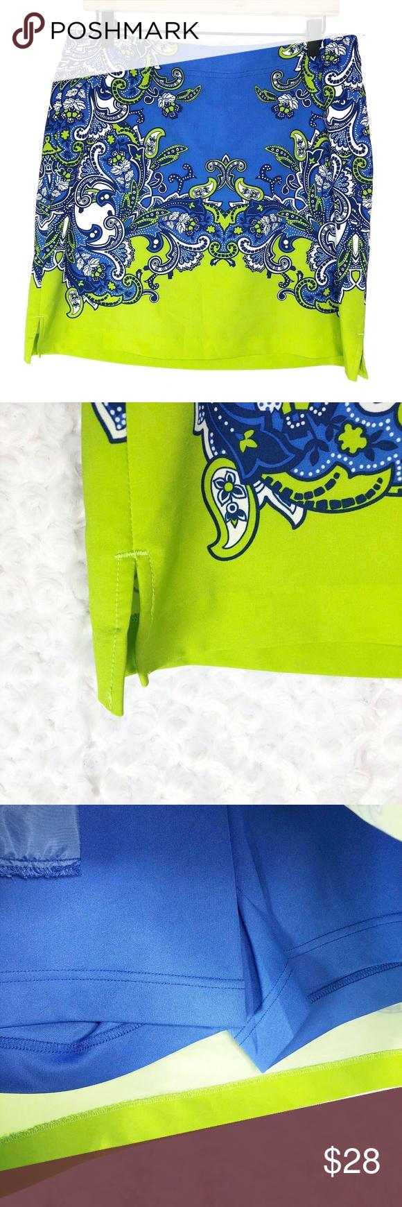 EP Pro Womens sz 10 Blue Golf Tennis Skirt Brand:  EP Pro Style:  Golf/Tennis Sk…
