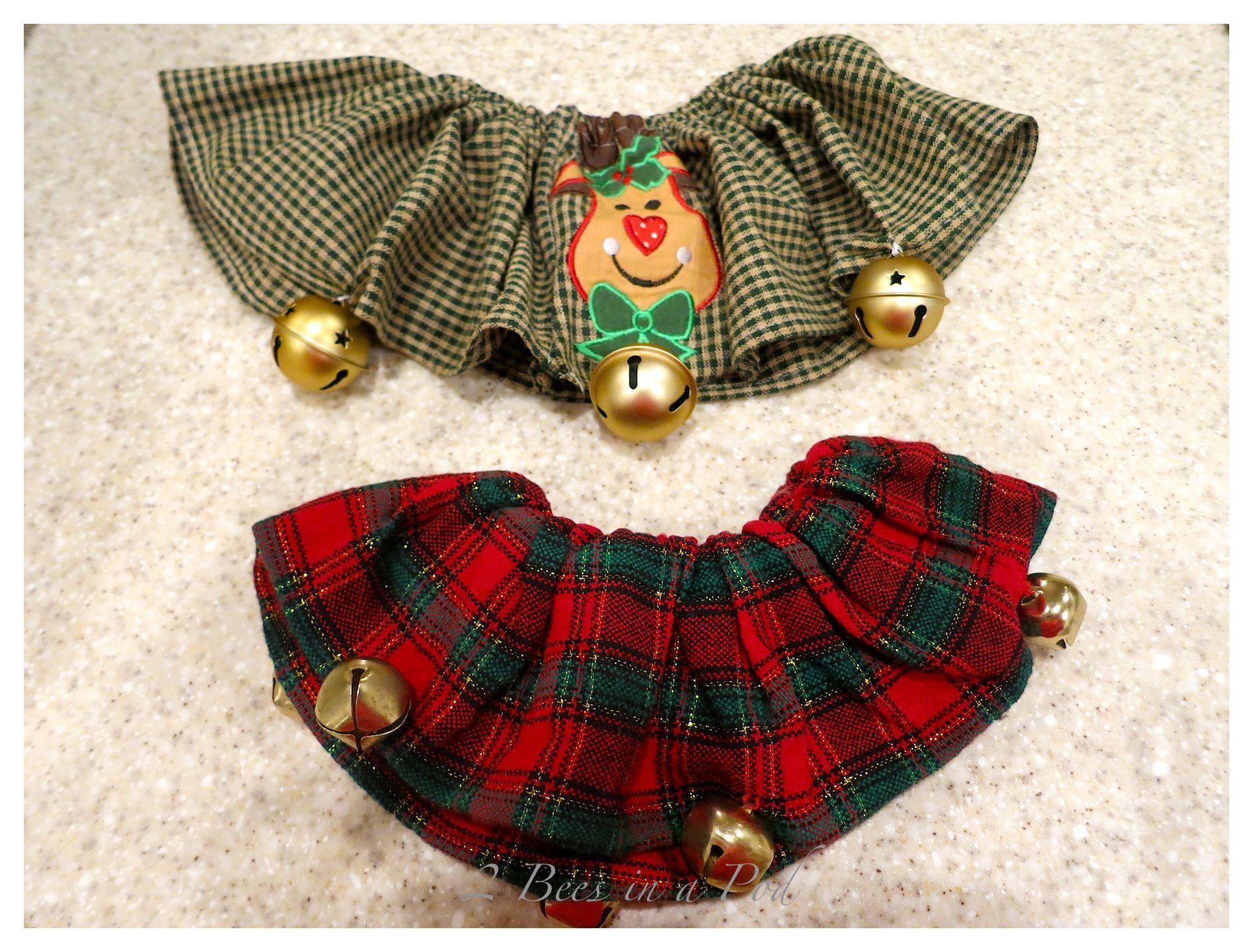 Easy to Sew – Christmas Dog Collar