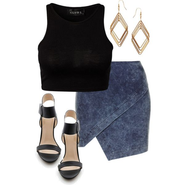 Edgy Hanna Marin inspired rooftop party outfit