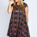 Edie Cap Sleeve Swing Dress alternative image  www.boohoo.com/...