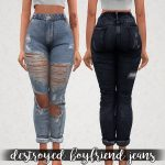 Elliesimple - Destroyed Boyfriend Jeans