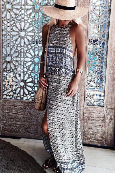 Evie Boho Maxi Dress