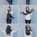 FOUR WAYS TO TIE A BLANKET SCARF