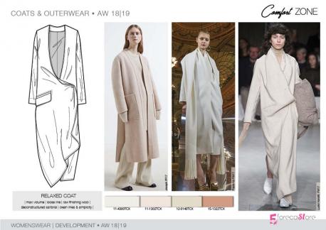 FW 2018-19 – Development – COATS & OUTERWEAR Womenswear
