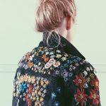 Fabric Crafts Stitch artist Tessa Perlow. Incl. stitch pattern. BurdaStyle  #art...