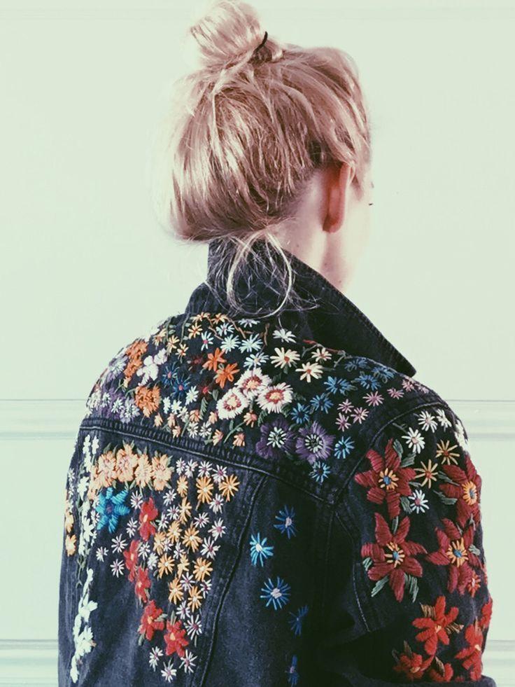 Fabric Crafts Stitch artist Tessa Perlow. Incl. stitch pattern. BurdaStyle  #art…