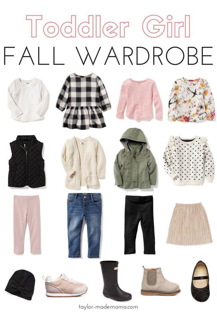Fall Wardrobe For Toddler Girls