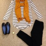 Fall/Winter teacher outfit. Shirt: JCPenney's, Pants: Walmart, Shoes: Payless, S...