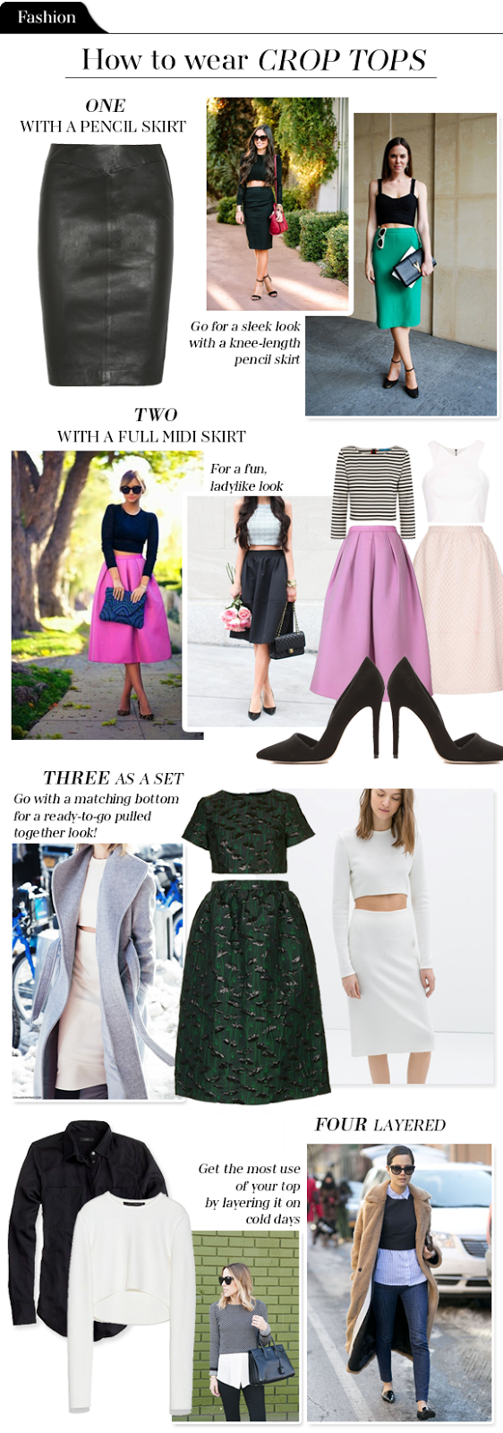 Fashion File: How to wear crop tops