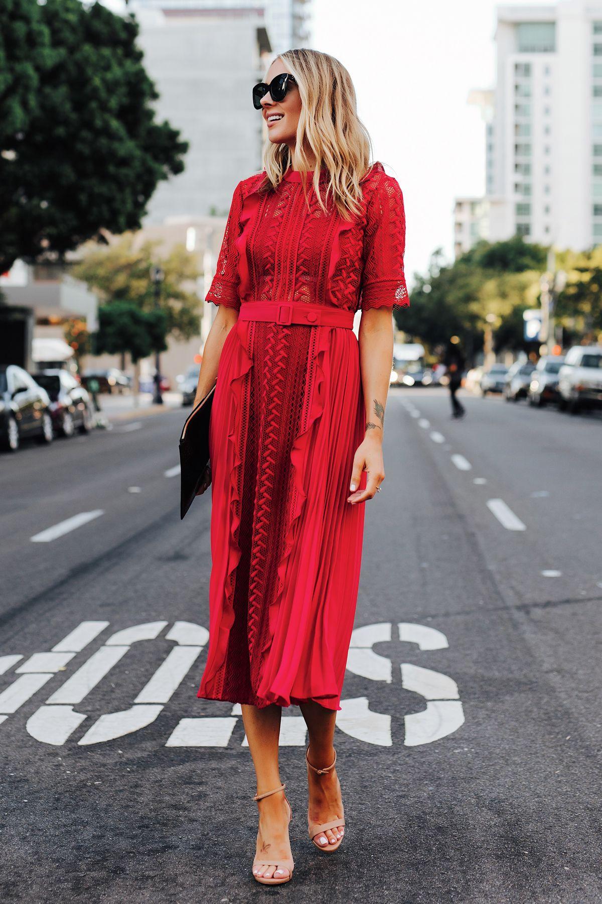 Fashion Jackson | Are Midi Dresses Appropriate for Black Tie Weddings?