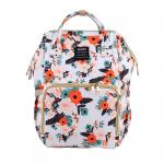 Floral Diaper Bag Backpack
