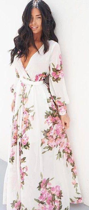 Floral Maxi Dress                                                               …