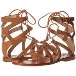 Frye Ruth Gladiator Short Sandal Women's Sandals ($228) ❤ liked on Polyvore fe...