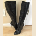 Gianmarco Lorenzi Black Leather Boots Every now and again I get an item to resal...