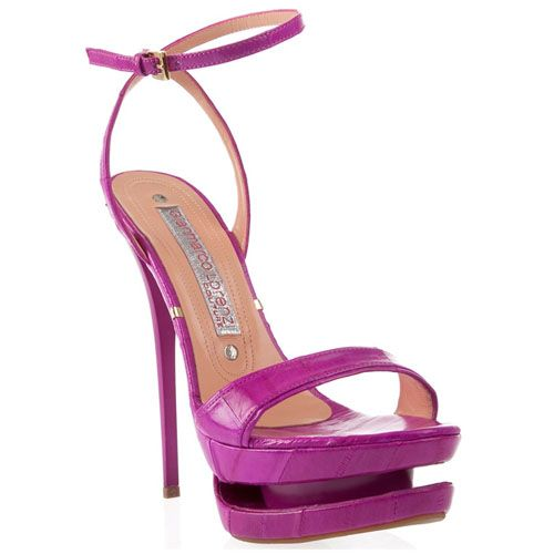 Gianmarco+Lorenzi+Simple+Pink+Patent+Leather+Sandals+-+$168.00+:+Red+Bottom+Heel…