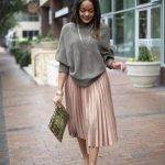 Gimme That ASOS Pleated Midi Skirt!