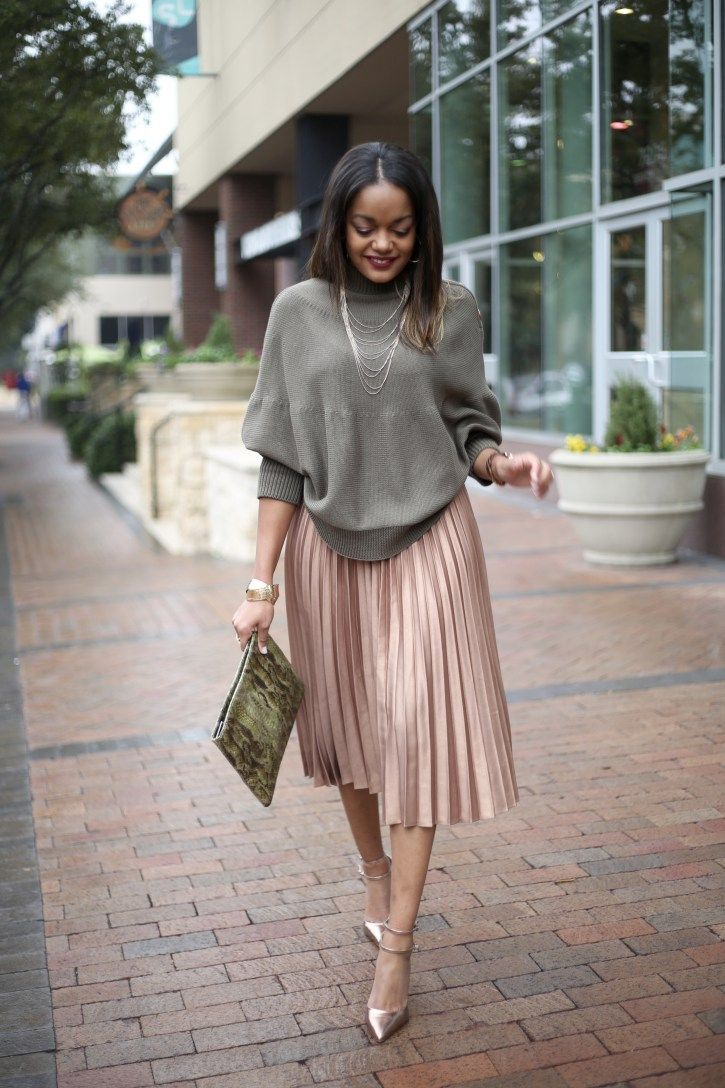 Gimme That ASOS Pleated Midi Skirt!