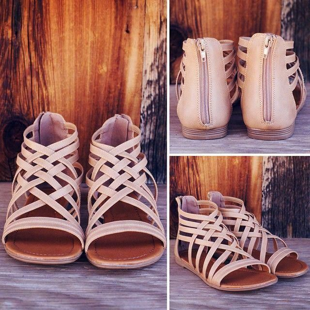 Gladiator Sandal Wedge Shoes Gladiator Sandals Baby Girl #shoesday #shoestobehap…