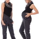 GoFuture® Maternity trousers Normal leisure use trousers KUSCHILA Maternity pants Trousers for pregnancy Soft warm stretchy Highest quality