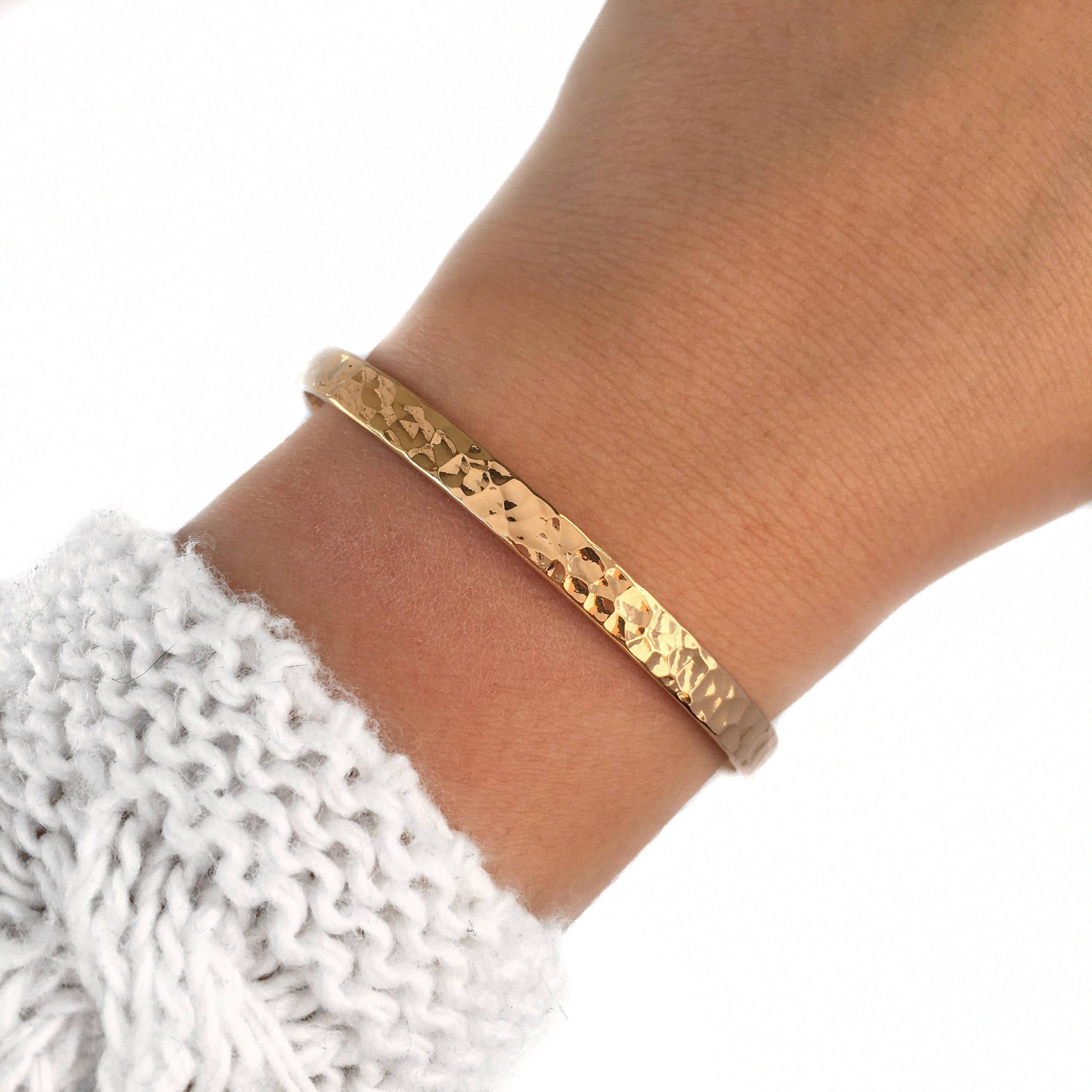 """Gold Bracelets for women """"Loa"""" 18k – Pandalys, gold bracelet for women, gold plated bracelet, jewel, women, modern, gift, love, friendship"""