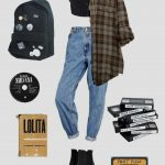 Grunge-Outfits 2019 Grunge Fashion #grunge, #fashion #grunge #grungefashion #out...