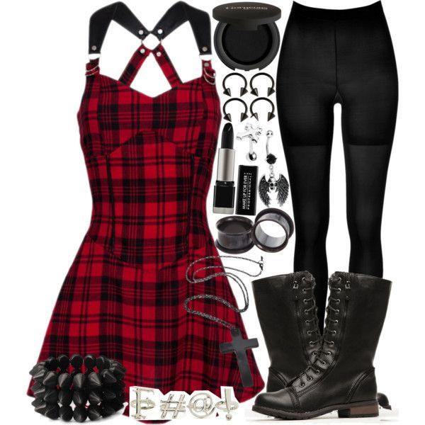 Grunge-Rock Winter Outfits For Women (18)