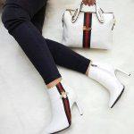 Gucci 2149 - Bag, Heeled Shoes Combine- Gucci 2149 – Çanta, Topuklu Ayakkabı...