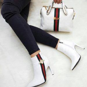 Gucci 2149 – Bag, Heeled Shoes Combine- Gucci 2149 – Çanta, Topuklu Ayakkabı…