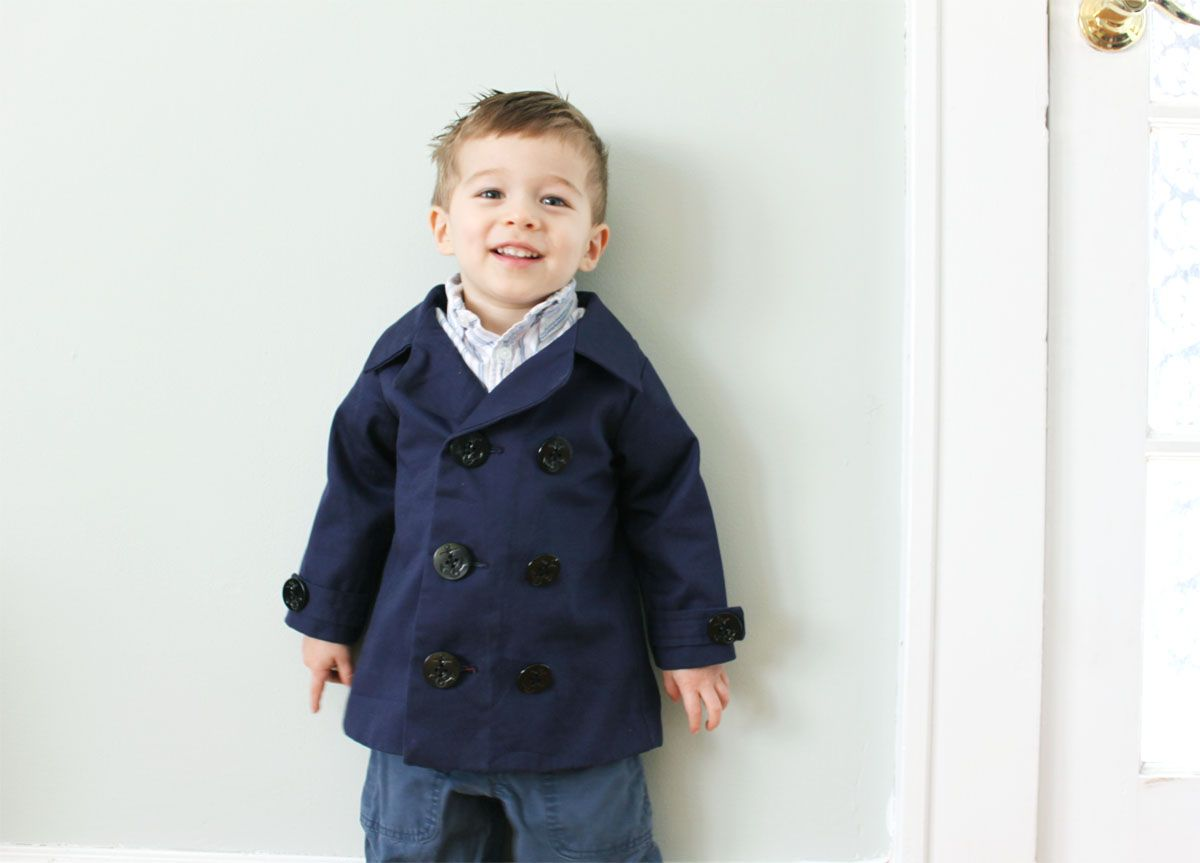 Guest Tutorial: Make a designer-styled boys jacket with lili ash!