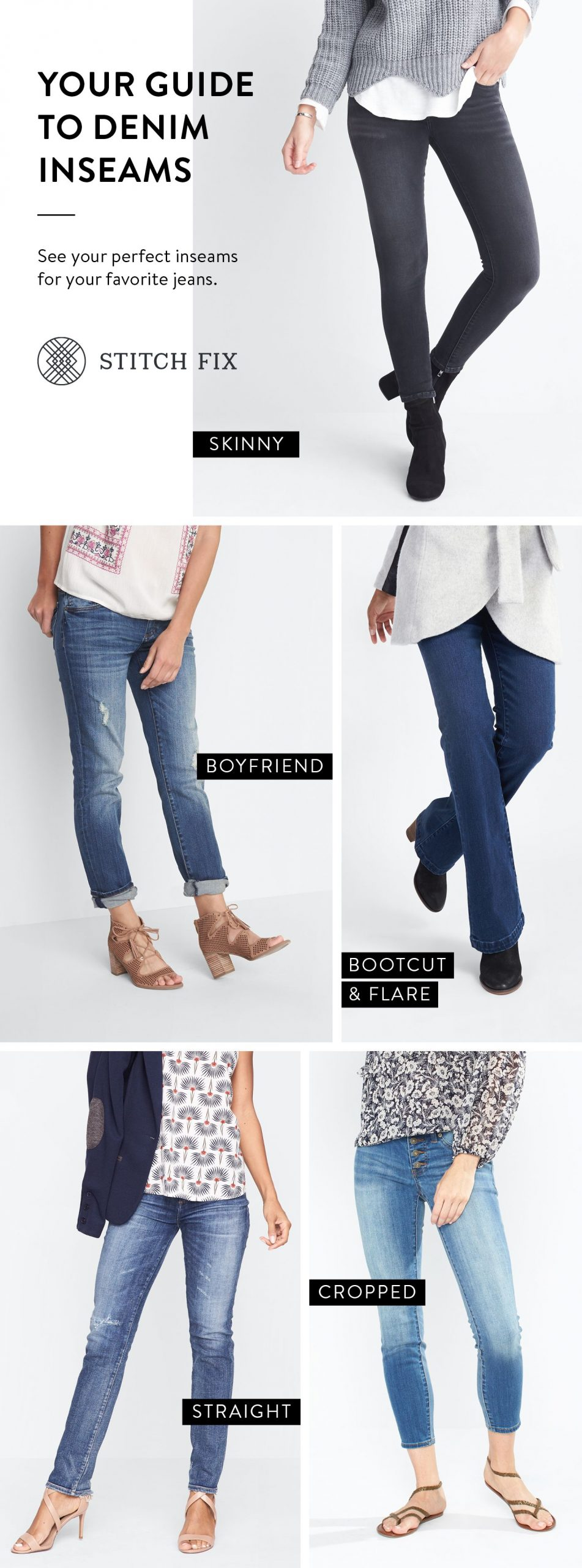 Guide to Denim Inseams for Women