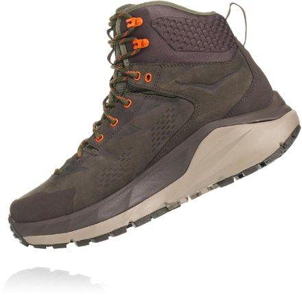HOKA ONE ONE Men's Sky Kaha GORE-TEX Hiking Boots Black Olive/Green 13
