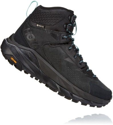 HOKA ONE ONE Women's Sky Kaha GORE-TEX Hiking Boots Black/Antigua Sand 10.5