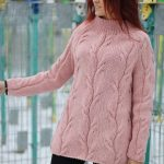 Hand Knit Slochly Sweater For Women, Loose Sweater, Warm Sweater, Chunky Long Sweater, Soft Sweater, Oversized Sweater