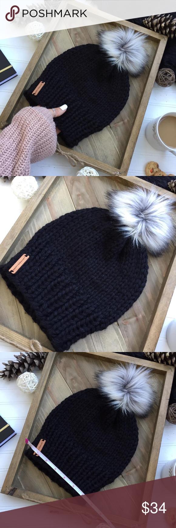 Handmade beanie 🖤 •Aimi beanie super stylish and cozy beanie, perfect for w…